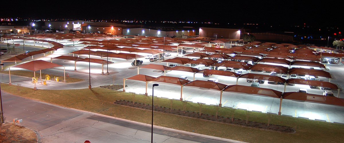 Hail Protection For Airport Parking Lots Vps Structures